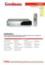 Buy GOODMANS GSR200CI by download #125470