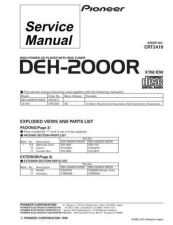 Buy PIONEER C2419 Service Data by download #152622