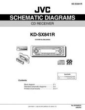 Buy JVC KD-SX841R SCH TECHNICAL DATA by download #131250