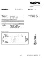Buy Sanyo SC-820 Manual by download #175249