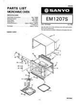 Buy Sanyo Service Manual For EM-S3553-2 Manual by download #175886