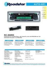 Buy ROADSTAR RC-899RD by download #128412