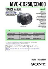 Buy Sony MVC-CD200_CD300_BLOCK Service Manual by download Mauritron #194078
