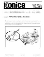 Buy Konica 41 Service Schematics by download #135503