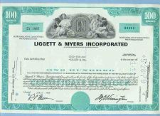 Buy DE na Stock Certificate Company: Liggett & Meyers Incorporated ~49