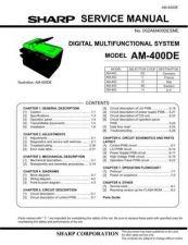 Buy Sharp AM400DE SM GB 2 Manual by download #179281