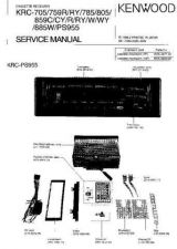 Buy Kenwood KRC705 KRC759 KRC785 KRC805 KRC859 KRC885 KRCPS955 Service Manual by do