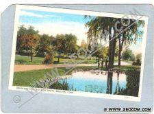 Buy CT Meriden Postcard Brookside Park Looking South ct_box3~1264