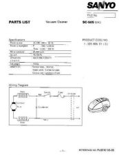 Buy Sanyo SC 810 Manual by download #175181