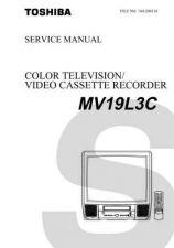 Buy TOSHIBA TV VTR combi MV19L3C TECH INFO by download #132202