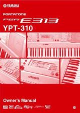 Buy Yamaha PSRE313_EN_OM Operating Guide by download Mauritron #204211