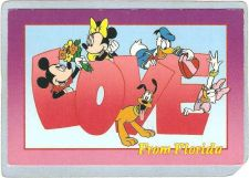 Buy FL Orlando Amusement Park Postcard Walt Disney World Love From Florida top~280