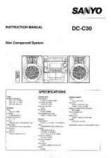 Buy Sanyo DC X891 Operating Guide by download #169126