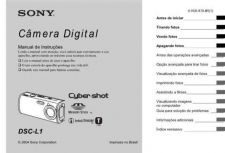 Buy SONY DSC-L1 OPERATING GUIDE by download #166741