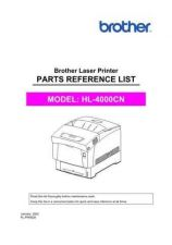Buy Brother PL HL4000CN Service Schematics by download #134812