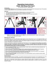 Buy Meade 884tripod Instruction Manual by download Mauritron #194705