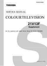 Buy 21V13F Service Schematics by download #129746