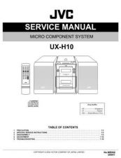 Buy JVC UX-GD6SUW Service Manual by download #156609