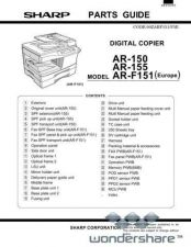 Buy Sharp 123 AR-150 PARTS Manual.pdf_page_1 by download #177679