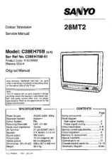 Buy Sanyo 28MT2 SM-Only Manual by download #172657