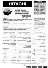 Buy HITACHI No 02938EFG Service Data by download #150974