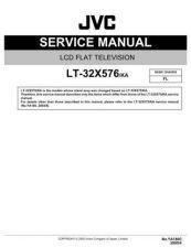 Buy JVC LT-32X576 Service Schematics by download #156286