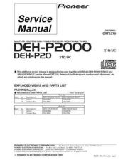 Buy PIONEER C2370 Service Data by download #152591