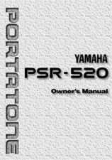 Buy Yamaha PSR520E Operating Guide by download Mauritron #204156