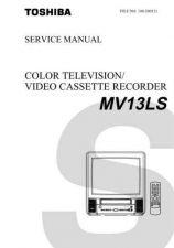 Buy TOSHIBA MV13LS Service Schematics by download #160226