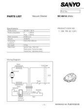 Buy Sanyo SCJS2B(PL2110046) Manual by download #175295