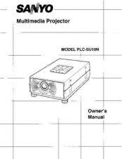 Buy Sanyo PLC-XU38-01 Manual by download #175017