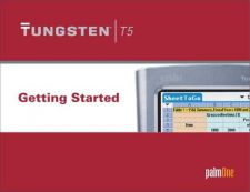 Buy PALM TUNGSTENT5 GETTING STARTED GUIDE EN by download #127437