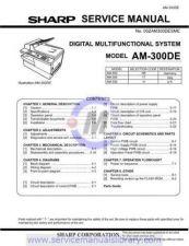 Buy Sharp AM300DE SM GB 3 Manual by download #179262