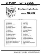 Buy Sharp 507 AR5127PG Manual by download #178566