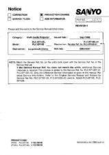 Buy Sanyo PLC9000NL Manual by download #174723