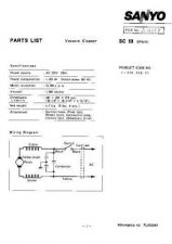 Buy Sanyo SCC1250(PL6510305-00 110 Manual by download #175289