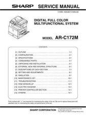 Buy Sharp ARC150-C160-C250 SM GB(1) Manual by download #170135