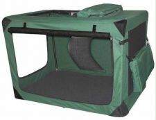 Buy Pet Gear Generation II Deluxe Portable Soft Crate Moss Green Extra Large