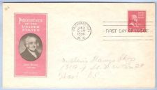Buy DC Washington First Day Cover / Commemorative Cover John Adams~24