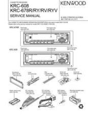 Buy KENWOOD KRC-478R RV RY RYV Technical Info by download #151952