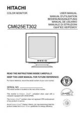 Buy Sanyo CM625ET IT Manual by download #173518