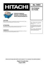 Buy HITACHI No 9403E Service Data by download #147398