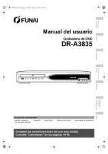 Buy Funai DR-A3835 E7B23ED ES 0126 BYR1 Owners User Guide Operating by download #162