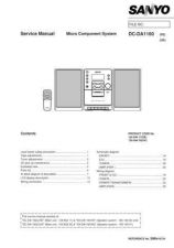 Buy Sanyo DC-DA1100(1) Manual by download #173848