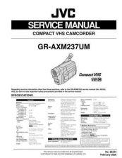 Buy JVC GR-AXM237 Service Schematics by download #155555