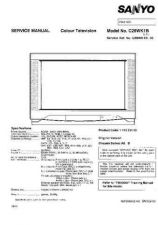 Buy Sanyo C28WK1B SM-Only Manual by download #172710