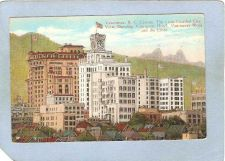 Buy CAN Vancouver Postcard View Showing Vancouver Hotel Vancouver Block & The ~167