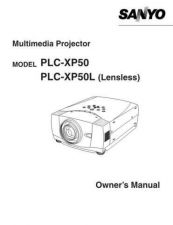 Buy Sanyo PLC-XL20 Manual by download #174897