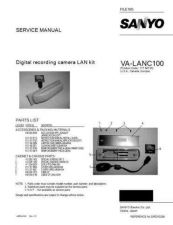 Buy Sanyo Service Manual For VA-EXD1B-01 Manual by download #176064