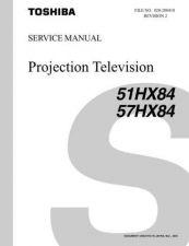 Buy TOSHIBA 51 57HX84SVM REV2 Service Schematics by download #160030